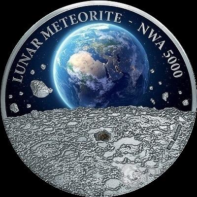 Картинки по запросу НИУЭ выпустил монету с осколком лунного метеорита