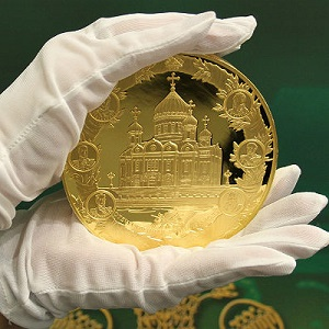 Картинки по запросу ЦБ решил выпустить золотую монету номиналом 20 000 рублей